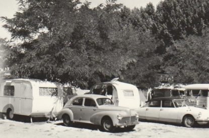 Emplacement dans les années 60