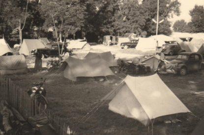 Emplacements dans les années 50
